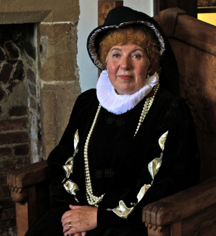 bess of hardwick costume volunteer