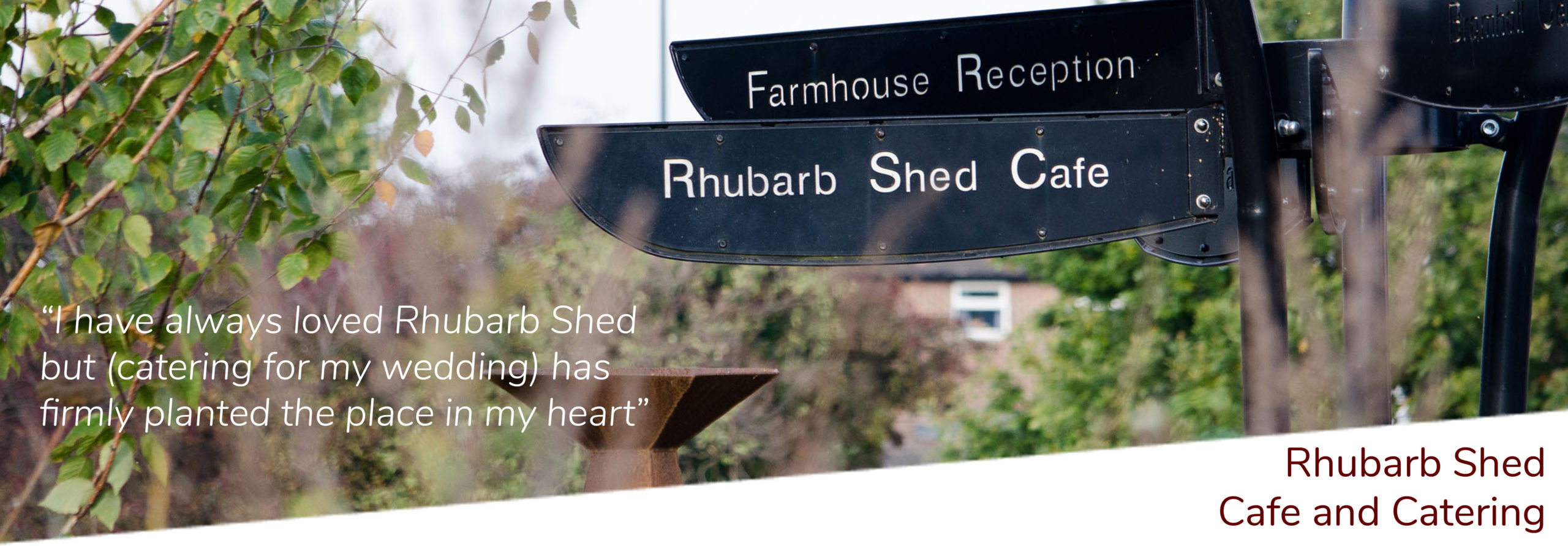 Rhubarb Shed Cafe and Catering