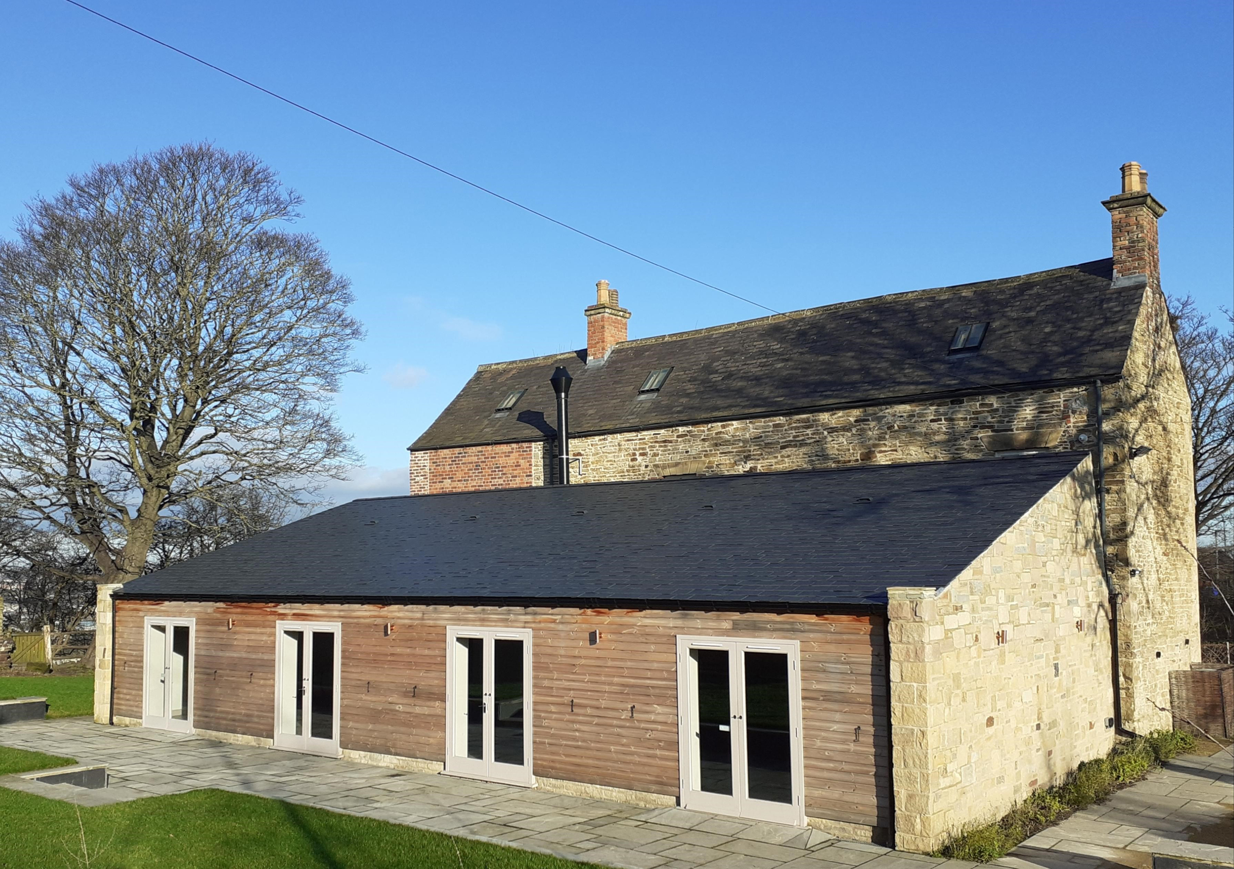 Manor Oaks House barn extension