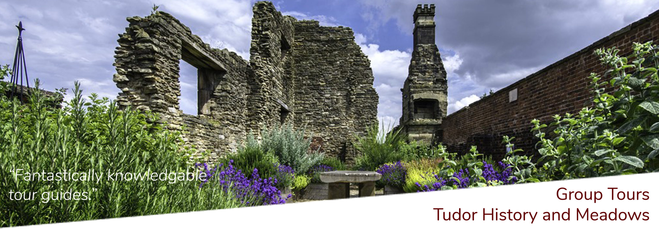 Tudor and wildflower meadows group tours