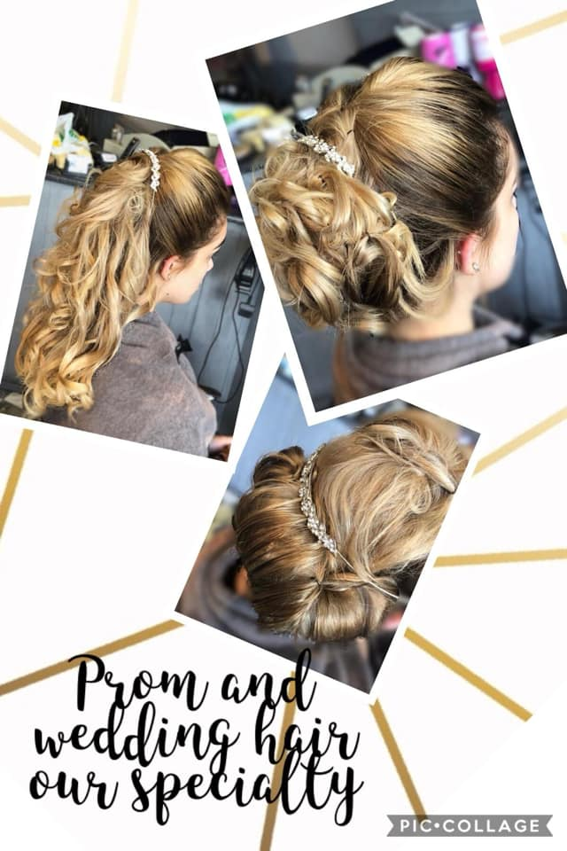 style council hair salon wedding hair sheffield