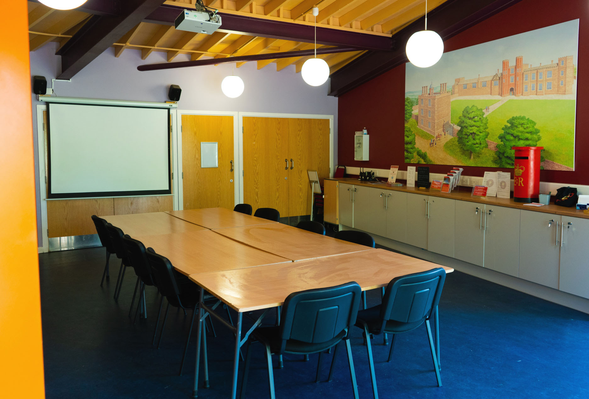 Sheffield Manor Lodge Discovery Centre venue hire space