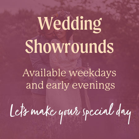 Weekday wedding showrounds available at Sheffield Manor Lodge